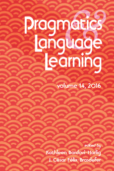 Pragmatics & language learning, volume 14