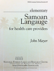 Samoan language for health care providers