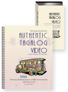 Authentic Tagalog video  (text + videotape)