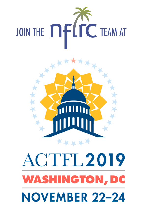 NFLRC @ 2019 ACTFL Conference