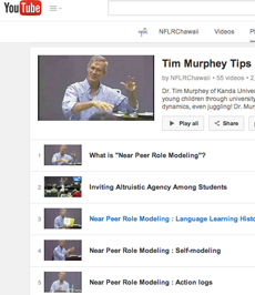 Tim Murphey tips (YouTube playlist)