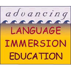 Advancing Language Immersion Education:  Pacific Perspectives & International Applications (1998)