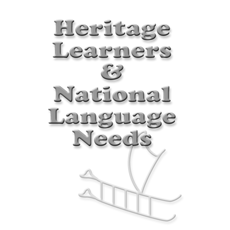 2002 Summer Institute evaluation: Heritage learners and national language needs
