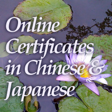 Advanced East Asian Courses Online
