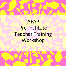 AFAP (Advanced Filipino Abroad Program) Pre-Institute Teacher Training Workshop (2004)