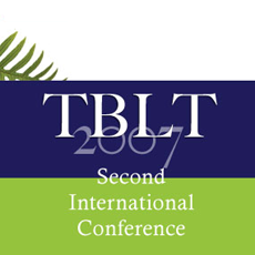2007 Second International Conference on Task-Based Language Teaching: Conference evaluation report