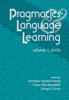 Pragmatics and language learning, volume 11