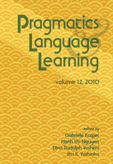 Pragmatics and language learning, volume 12