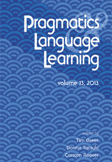 Pragmatics and language learning, volume 13