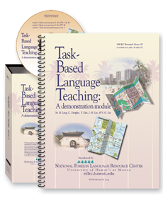 Task-Based Language Teaching: A demonstration module