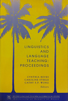 Linguistics and language teaching: Proceedings of the sixth joint LSH-HATESL conference