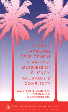 Second language development in writing: Measures of fluency, accuracy, and complexity