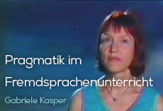 Pragmatik im Fremdsprachenunterricht [Pragmatics in foreign language teaching]