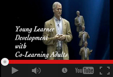Young learner development with co-learning adults